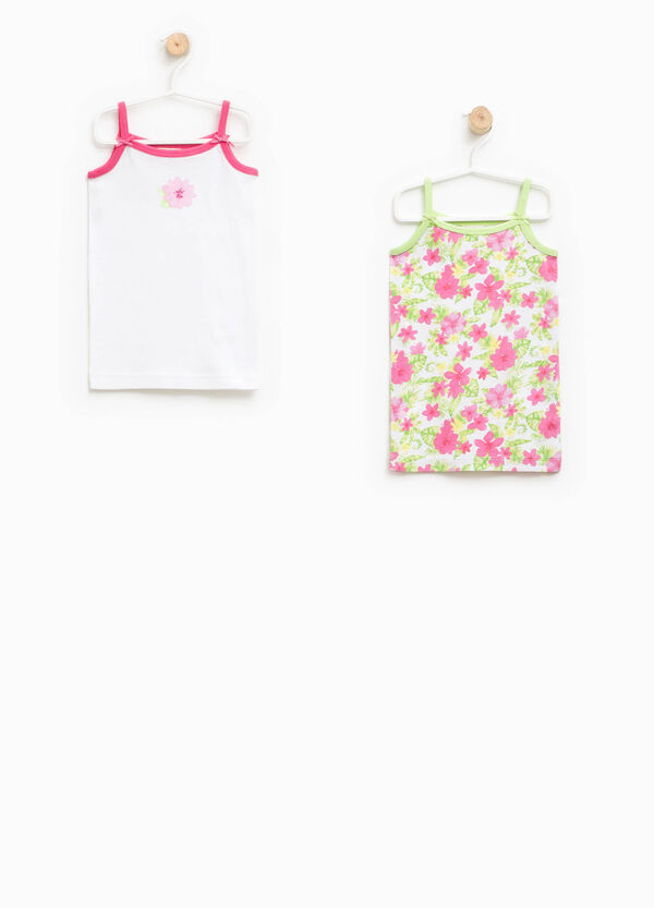 Set of two 100% Biocotton under tops | OVS