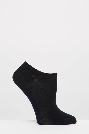 Two-pack short socks with sheep, Black, hi-res