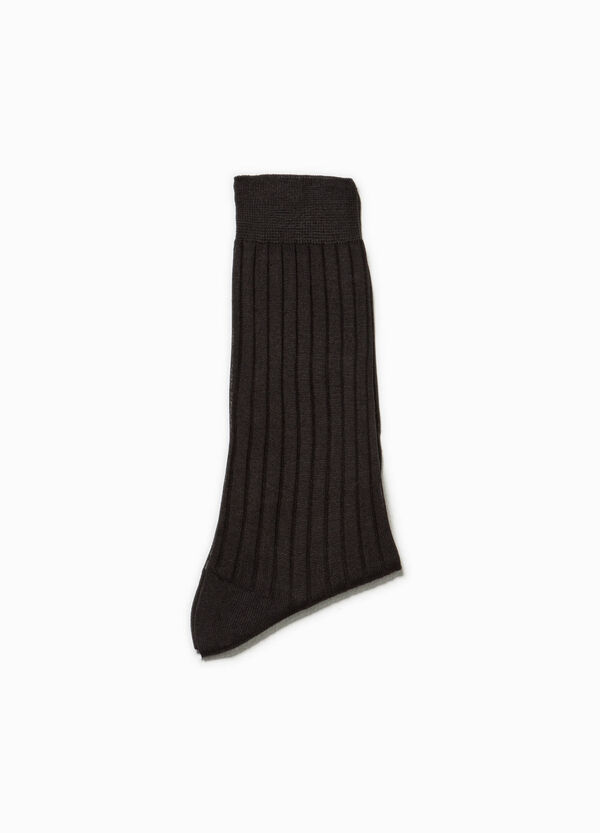 Short cotton socks with ribbed cotton | OVS