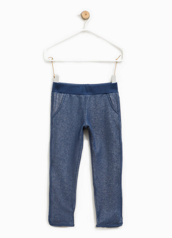 Stretch glitter trousers | OVS