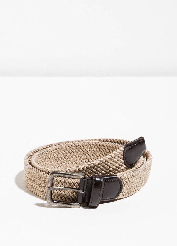 Cinturón con trama trenzada. | OVS