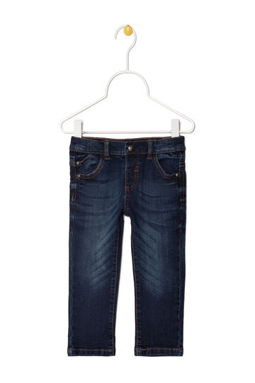 Jeans stretch effetto used, Denim, hi-res