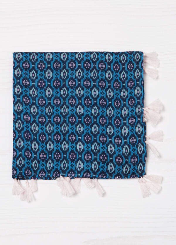 Patterned pashmina in viscose | OVS