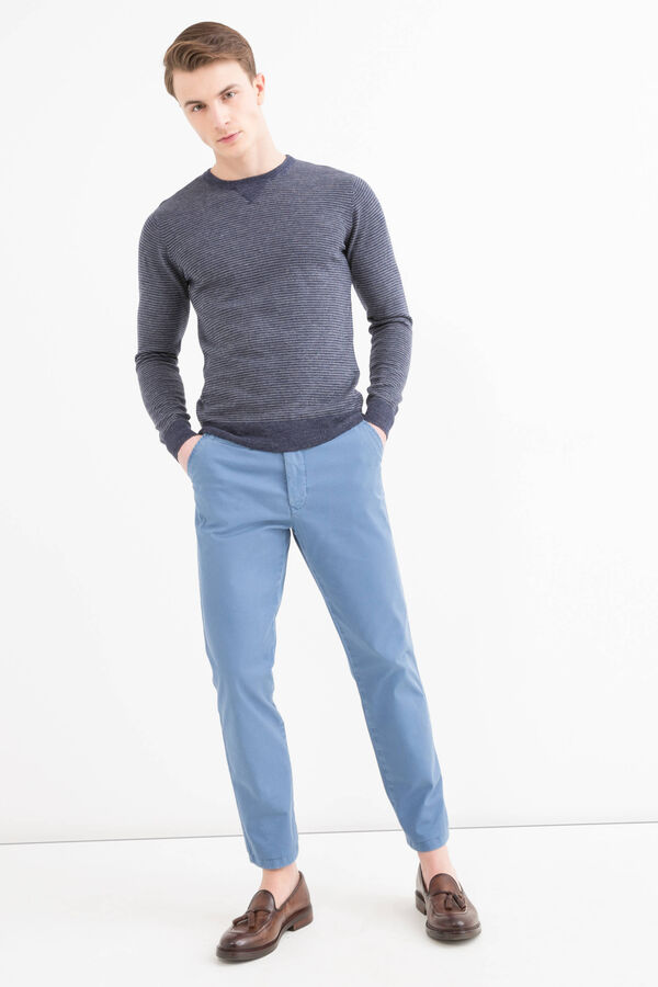100% cotton knitted pullover   OVS