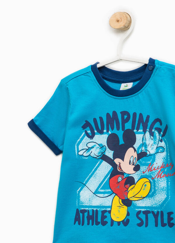 T-shirt con stampa Mickey Mouse | OVS