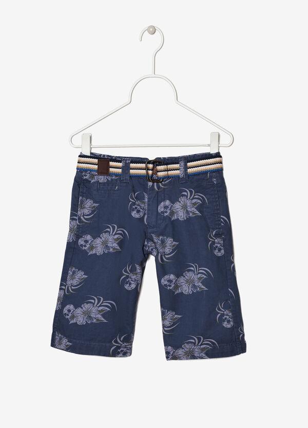 Printed Bermuda shorts   OVS