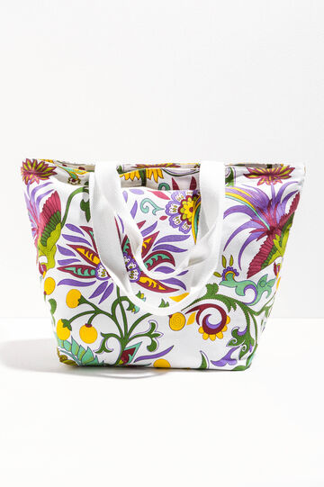 Beach bag with all-over print