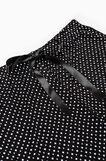 Viscose pyjama bottoms with lace, Black, hi-res
