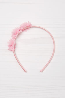 Solid colour hairband, Pink, hi-res