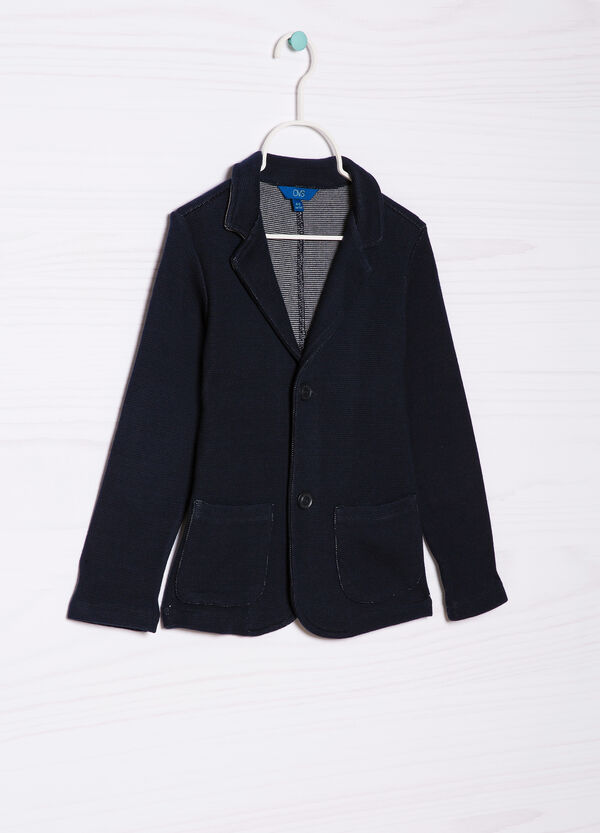 100% cotton jacket with pockets   OVS
