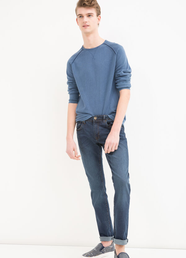 Pullover girocollo puro cotone | OVS