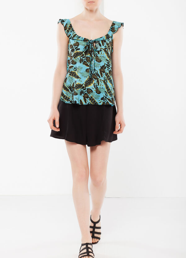 Top with frill   OVS