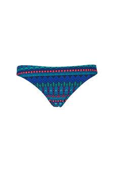 Geometric patterned briefs, Blue, hi-res