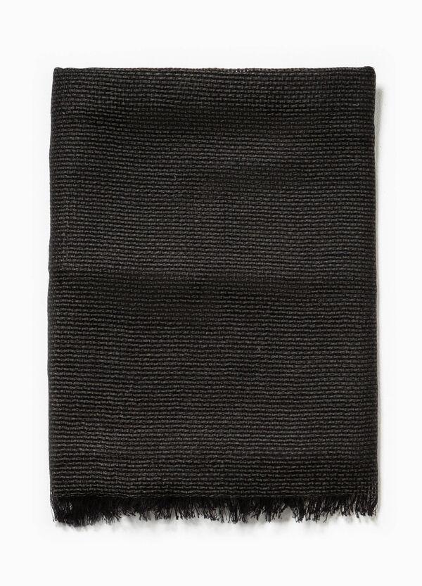 Bufanda en punto tricot de algodón y viscosa | OVS