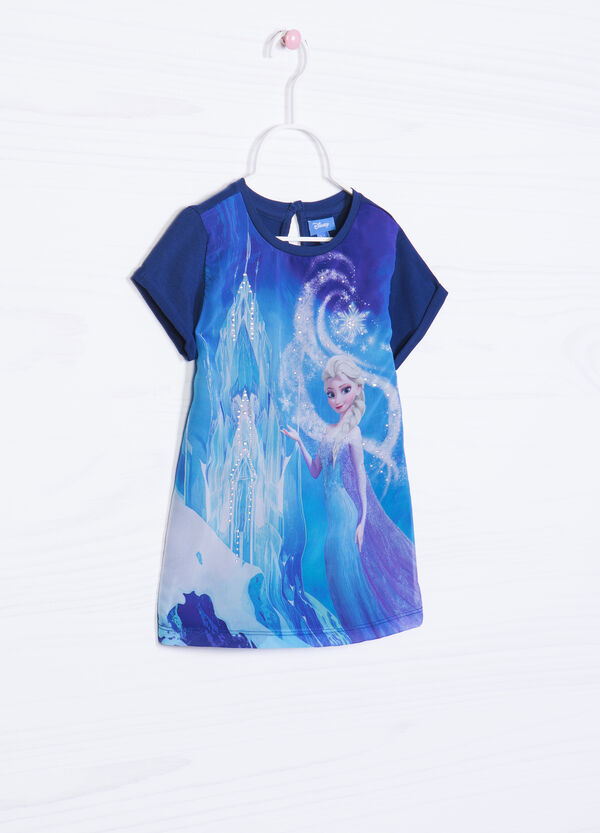 Stretch T-shirt with Frozen print | OVS