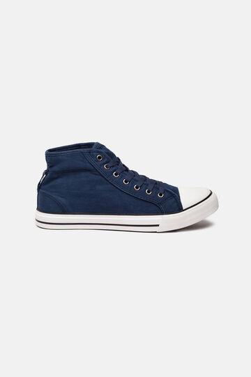 Sneakers in tessuto, Blu, hi-res