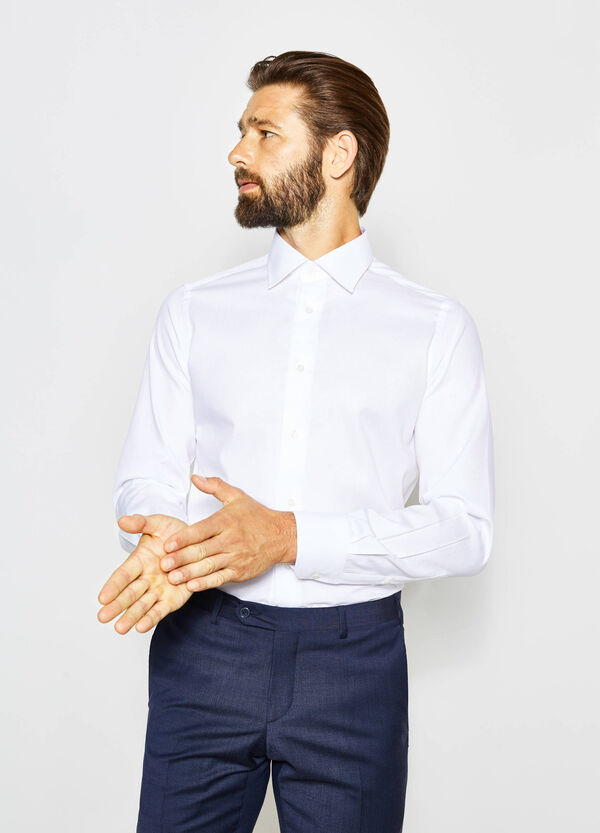Camicia formale slim fit puro cotone | OVS