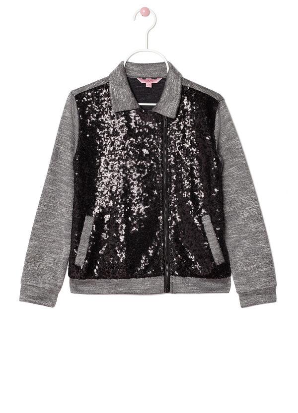 Sequinned hoodie | OVS