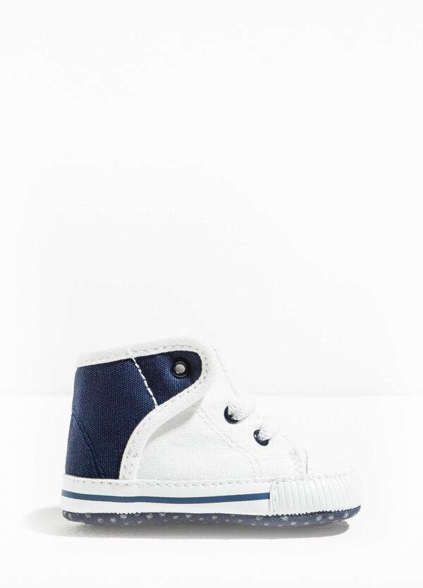High-top sneakers with contrasting back | OVS