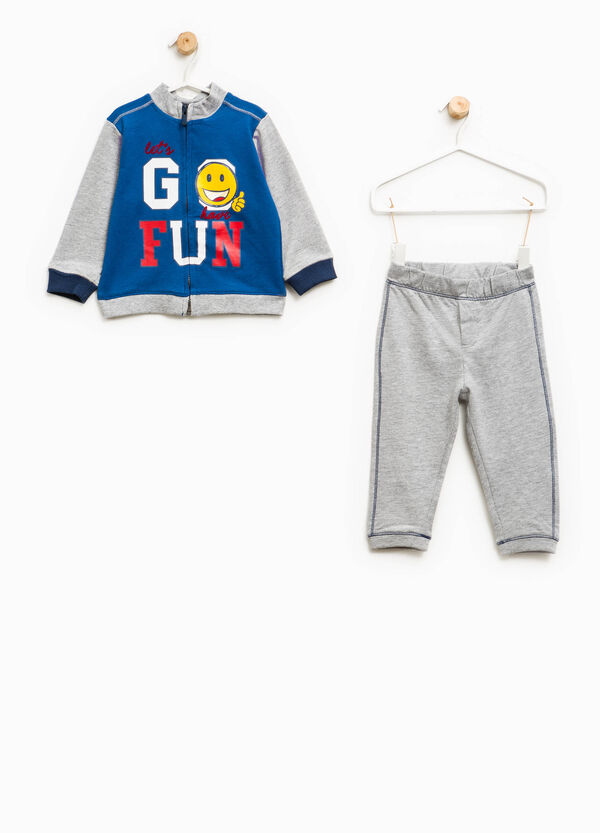 100% cotton tracksuit with printed lettering | OVS