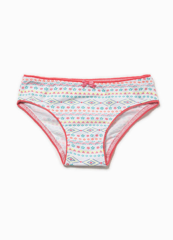 Slip Biocotton stretch con stampa | OVS