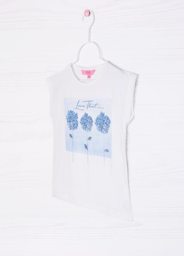 Stretch sleeveless T-shirt | OVS