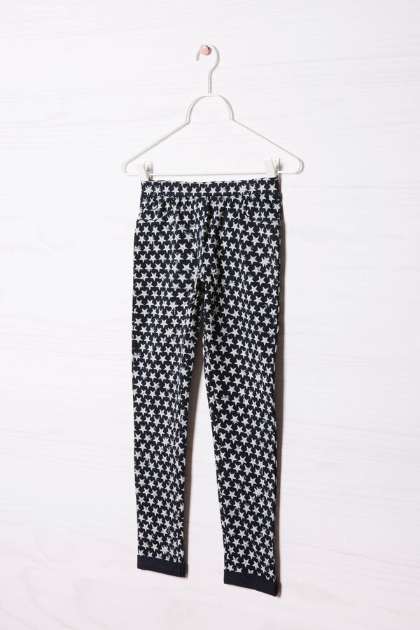 Printed stretch gym pants | OVS
