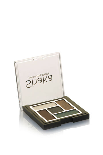 Eyeshadow palette with five finishes, Ivory White, hi-res