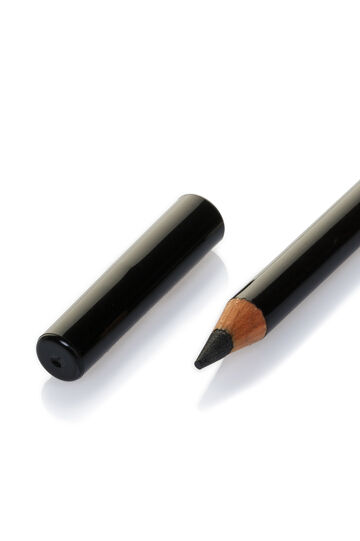 Classical wooden eye pencil, Black, hi-res