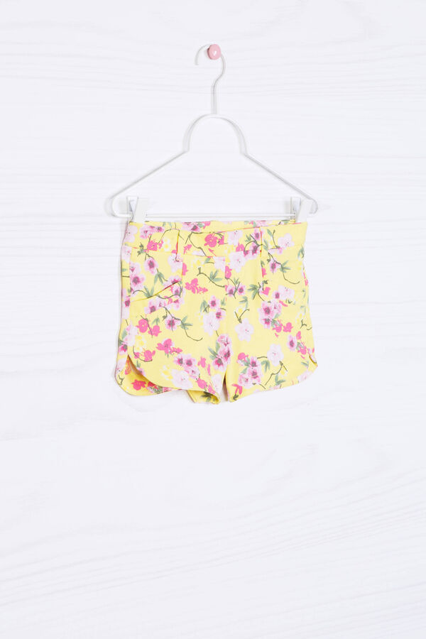 Floral stretch shorts | OVS