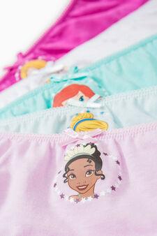Five-pack Disney Princess briefs, Multicolour, hi-res