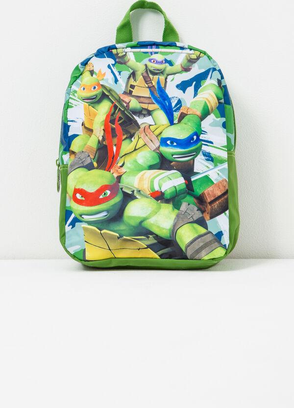 Backpack with Teenage Mutant Ninja Turtle print. | OVS