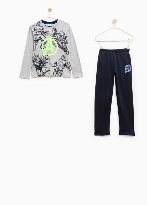 Cotton pyjamas with Avengers print | OVS