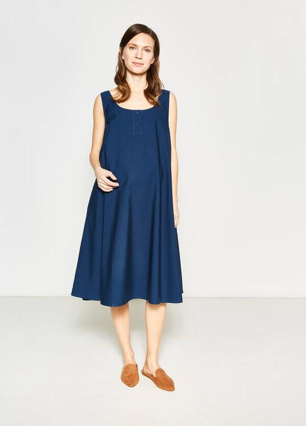 Sleeveless 100% cotton MUM dress | OVS