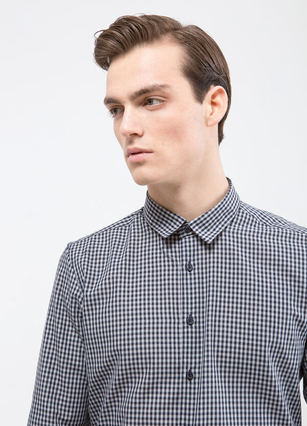 Camicia cotone quadretti | OVS