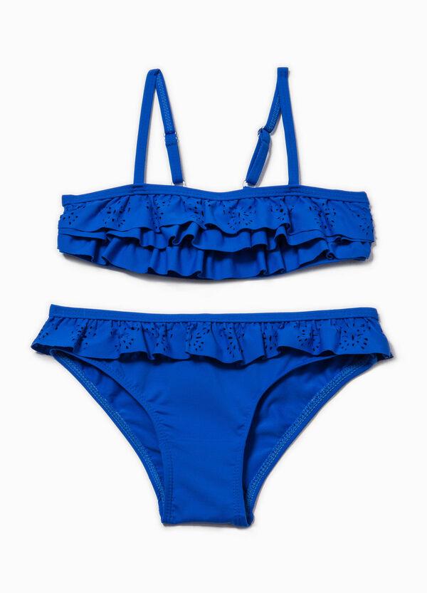 Bikini con volants traforati | OVS
