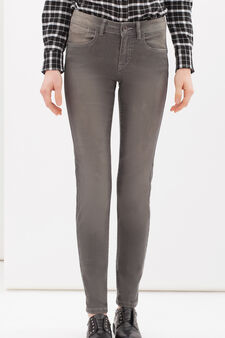 Regular-fit stretch jeans, Grey, hi-res