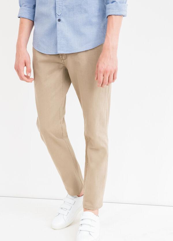 Pantalón en algodón 100% con 5 bolsillos | OVS