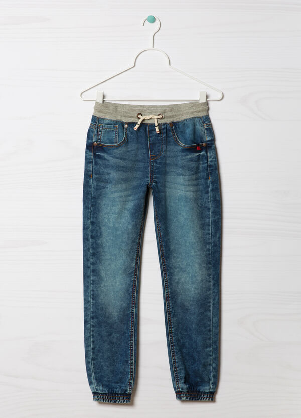 Jeans stretch con coulisse | OVS
