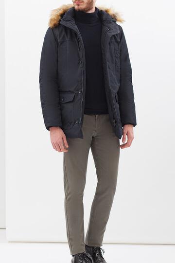 Rumford hooded jacket, Blue, hi-res