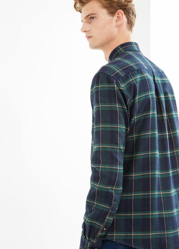 Camicia casual quadri button down | OVS