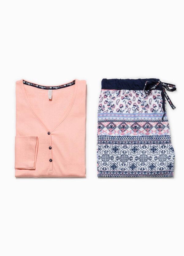 Top and trousers pyjama set | OVS