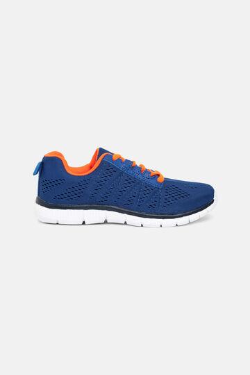 Openwork sneakers, Royal Blue, hi-res