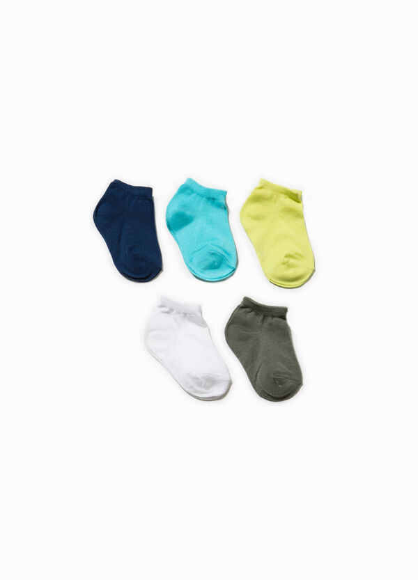 Five-pair pack short socks | OVS