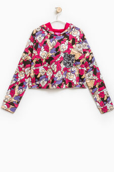 Snow White and the Seven Dwarves sweatshirt, Pink, hi-res