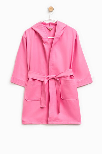 Bathrobe with two pockets