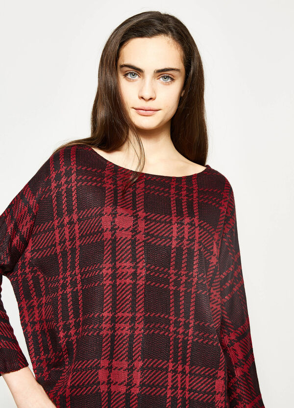 Teen pullover with tartan pattern | OVS