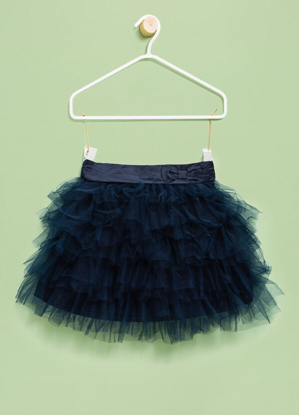 Flounced tulle skirt | OVS