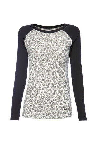Smart Basic patterned cotton T-shirt