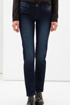 Stretch regular fit jeans, Dark Wash, hi-res